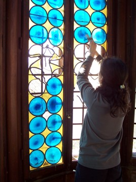 stained glass window restauration